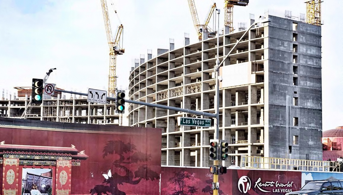 Resorts World Las Vegas taking shape